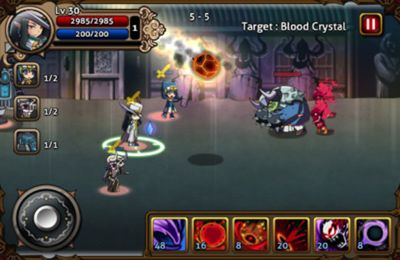 Download Vampire Slasher iPhone free game.