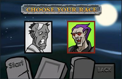 Download Vampires vs. Zombies iPhone free game.