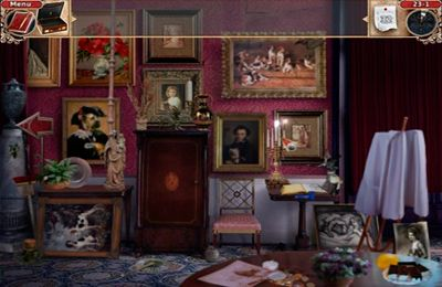 Screenshots vom Spiel Vampireville: haunted castle adventure für iPhone, iPad oder iPod.