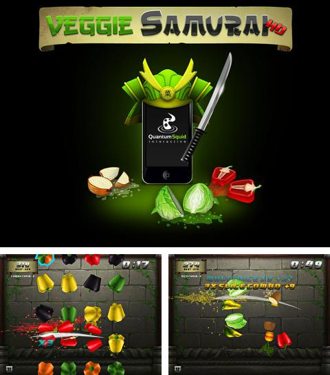 In addition to the game THE BRUTAL SPY for iPhone, iPad or iPod, you can also download Veggie samurai for free.