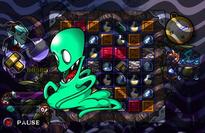 Screenshots of the Vempire - Monster King game for iPhone, iPad or iPod.