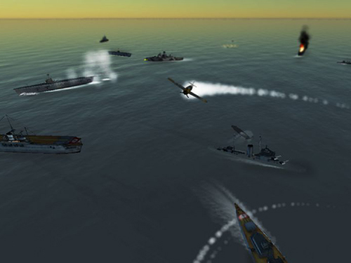 Download Victory at sea iPhone free game.