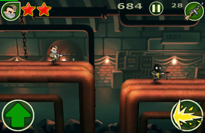 Capturas de pantalla del juego Victory March para iPhone, iPad o iPod.