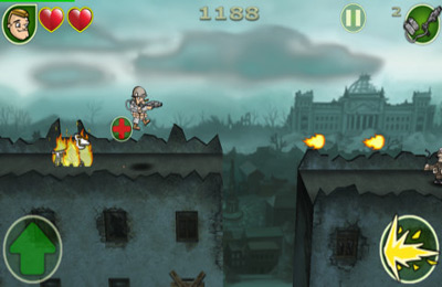 Screenshots vom Spiel Victory March Deluxe für iPhone, iPad oder iPod.