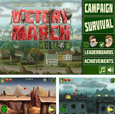 In addition to the game Sparkle 2 for iPhone, iPad or iPod, you can also download Victory March Deluxe for free.