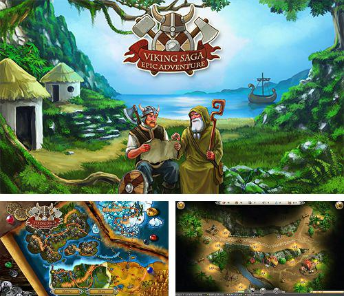 Download Viking saga: Epic adventure iPhone free game.