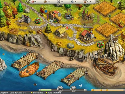Download Viking saga: New world iPhone free game.