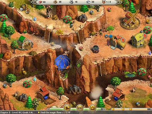 Screenshots of the Viking saga: New world game for iPhone, iPad or iPod.