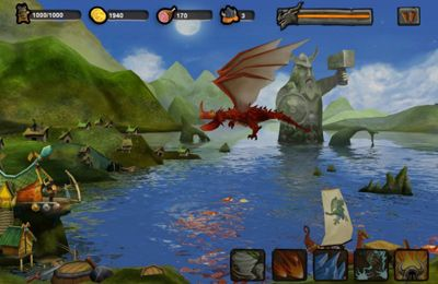 Baixe Vikings vs. Dragons gratuitamente para iPhone, iPad e iPod.