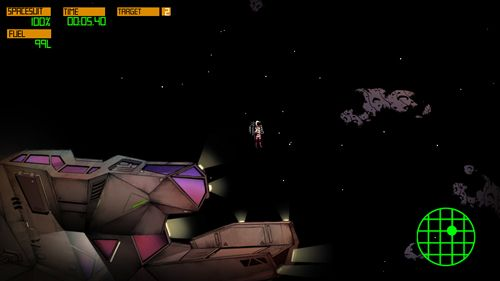 Screenshots vom Spiel Violet: Space mission für iPhone, iPad oder iPod.