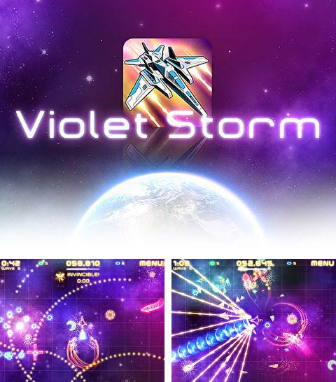 In addition to the game Soccer Rally: Euro 2012 for iPhone, iPad or iPod, you can also download Violet storm for free.