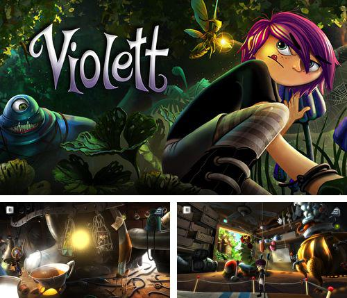 In addition to the game Cookie cats blast for iPhone, iPad or iPod, you can also download Violett for free.