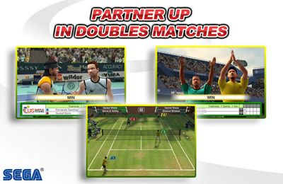 Download Virtua Tennis Challenge iPhone free game.