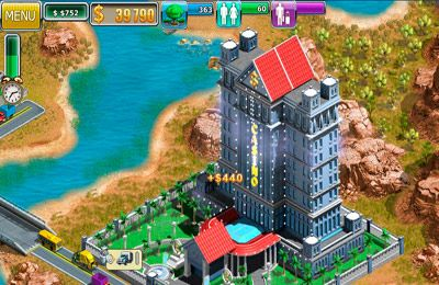Kostenloser Download von Virtual City 2: Paradise Resort für iPhone, iPad und iPod.