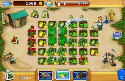 Screenshots of the Virtual Farm game for iPhone, iPad or iPod.