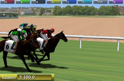 Capturas de pantalla del juego Virtual Horse Racing 3D para iPhone, iPad o iPod.