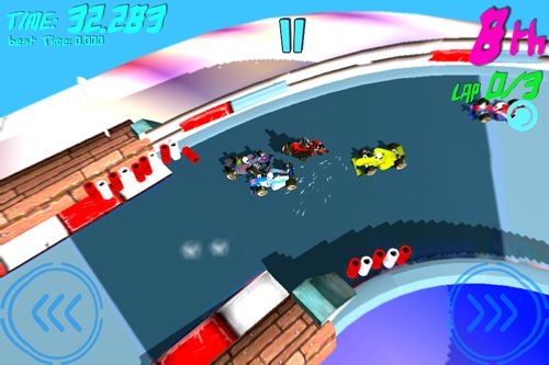 Free Virtual mini race download for iPhone, iPad and iPod.