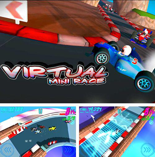 Скачать Virtual mini race на iPhone бесплатно