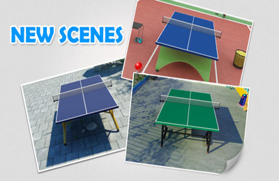 Descarga gratuita del juego Ping pong virtual para iPhone.