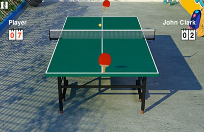 Capturas de pantalla del juego Virtual Table Tennis 3 para iPhone, iPad o iPod.