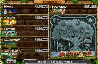 Screenshots of the Virtual Villagers 4: The Tree of Life game for iPhone, iPad or iPod.