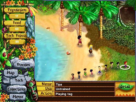 Kostenloser Download von Virtual villagers: The lost children für iPhone, iPad und iPod.