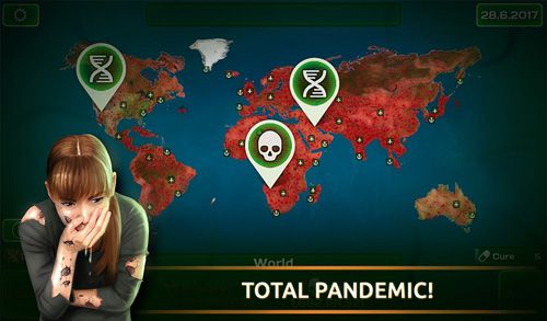 Download Virus plague: Pandemic madness iPhone free game.