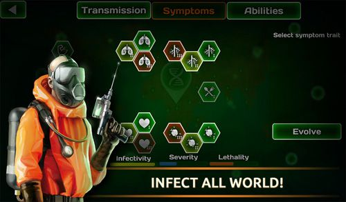 Free Virus plague: Pandemic madness download for iPhone, iPad and iPod.