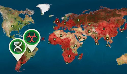 Screenshots of the Virus plague: Pandemic madness game for iPhone, iPad or iPod.