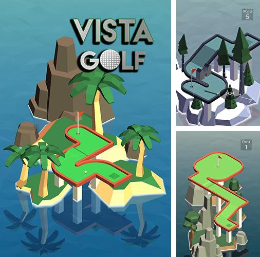 In addition to the game Zenonia for iPhone, iPad or iPod, you can also download Vista golf for free.