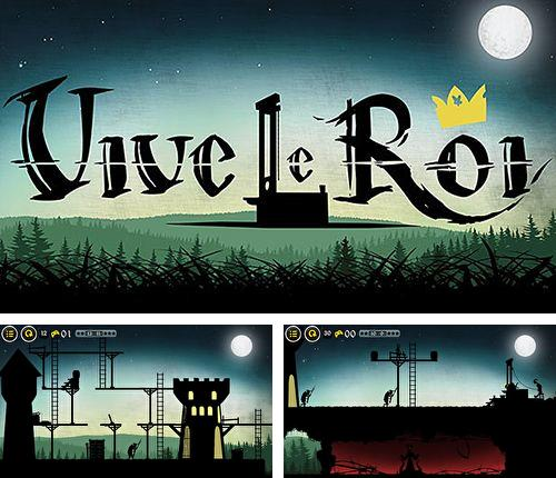 In addition to the game Meganoid for iPhone, iPad or iPod, you can also download Vive le roi for free.