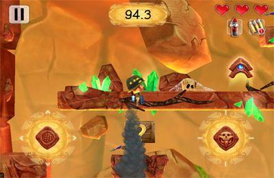 Download Volcano Escape iPhone free game.