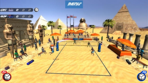 Écrans du jeu VTree Entertainment Volleyball pour iPhone, iPad ou iPod.