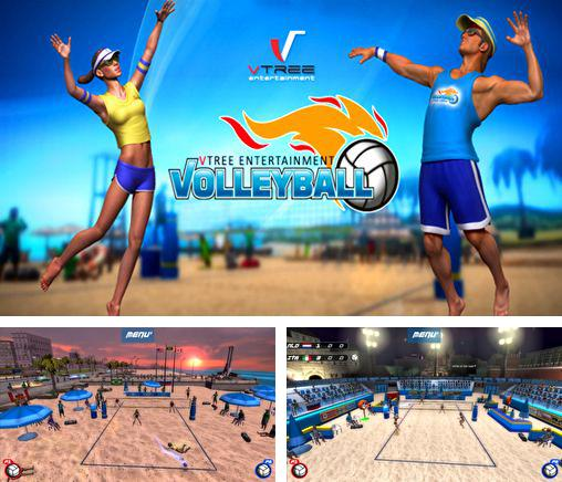 In addition to the game Bike mania for iPhone, iPad or iPod, you can also download VTree Entertainment Volleyball for free.