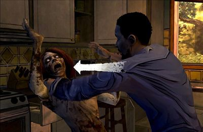 Screenshots do jogo Walking Dead: The Game para iPhone, iPad ou iPod.
