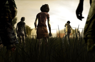 Écrans du jeu Walking Dead: The Game pour iPhone, iPad ou iPod.