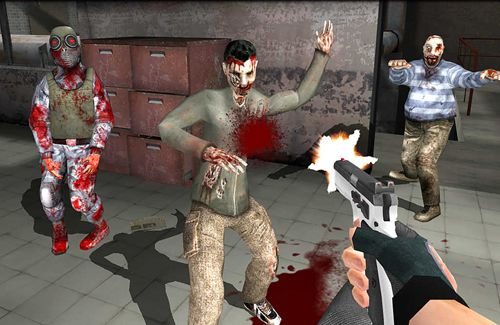 Screenshots of the Walking dead zombies: The town of advanced assault warfare game for iPhone, iPad or iPod.