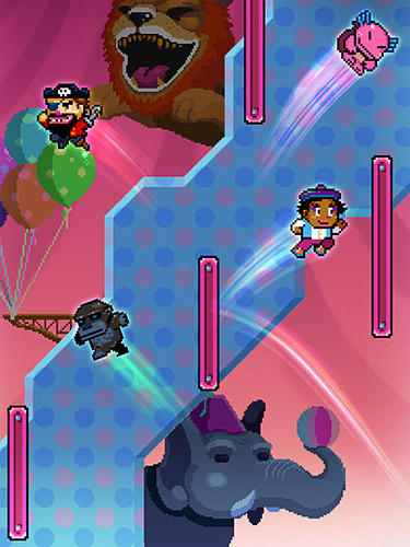 Capturas de pantalla del juego Wall kickers para iPhone, iPad o iPod.