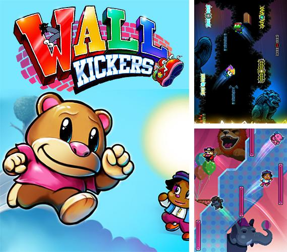 In addition to the game A manic monster for iPhone, iPad or iPod, you can also download Wall kickers for free.