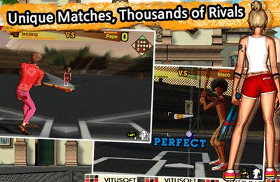 Screenshots vom Spiel Cricket WorldCup Fever Deluxe für iPhone, iPad oder iPod.