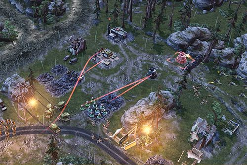 Игра War commander: Rogue assault для iPhone