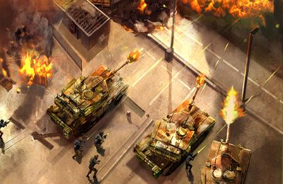 Capturas de pantalla del juego War Fire OL para iPhone, iPad o iPod.