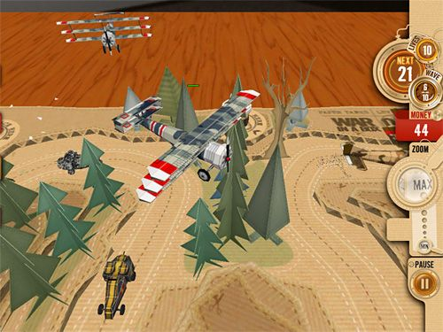 Игра War in a box: Paper tanks для iPhone