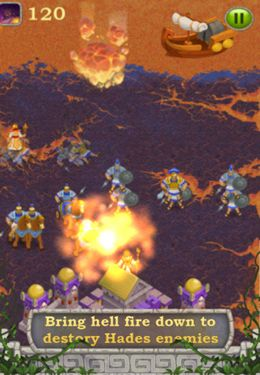 Screenshots do jogo War Of Immortals para iPhone, iPad ou iPod.