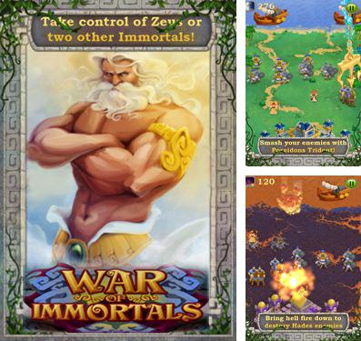 In addition to the game Pac-Man: friends for iPhone, iPad or iPod, you can also download War Of Immortals for free.