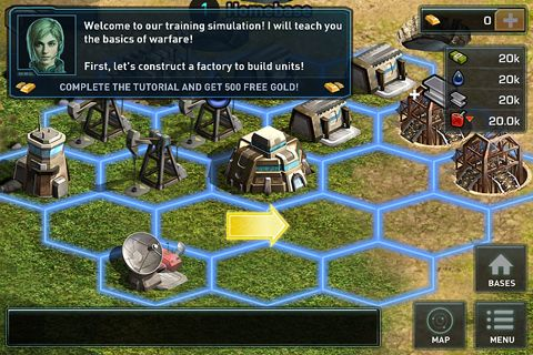 Screenshots vom Spiel War of nations für iPhone, iPad oder iPod.
