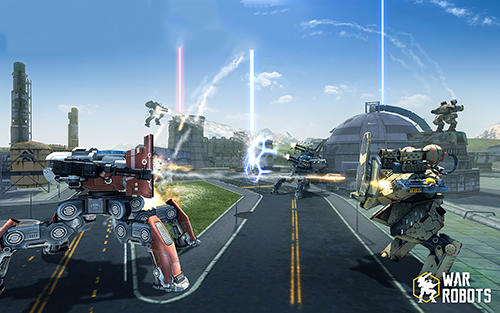 Baixe War robots gratuitamente para iPhone, iPad e iPod.
