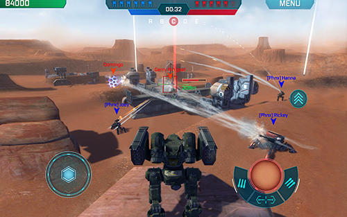 Screenshots do jogo War robots para iPhone, iPad ou iPod.