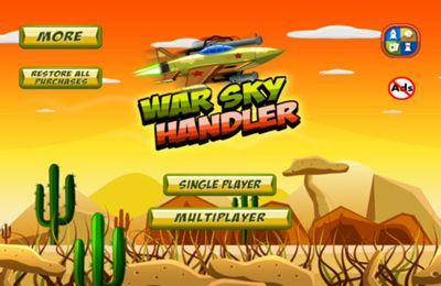 War Sky Handler: Desert Air Clash-Pro