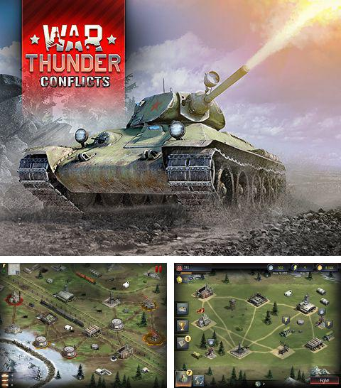 In addition to the game Ninja Warrior Game for iPhone, iPad or iPod, you can also download War thunder: Conflicts for free.